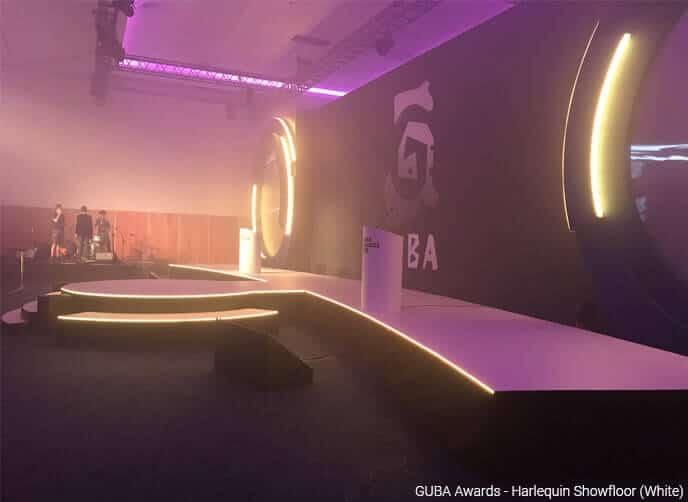 Harlequin showfloor GUBA awards