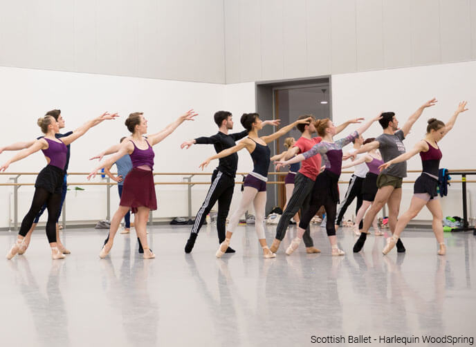Harelquin Woodspring Scottish Ballet
