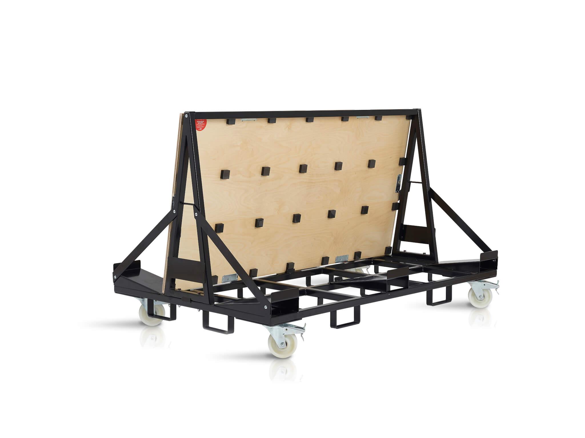 Sprung Storage Cart