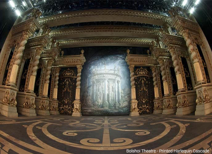 Harlequin cascade Bolshoi Theatre