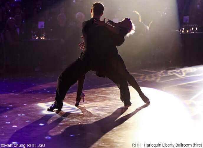 RHH - Harlequin liberty ballroom hire