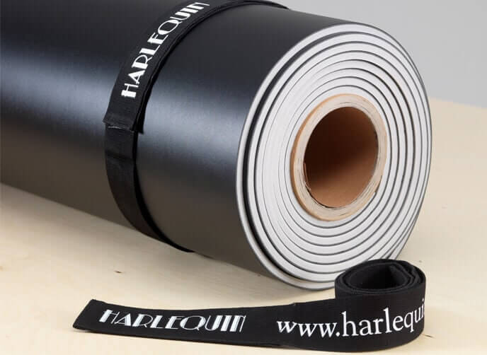 Harlequin rolls straps