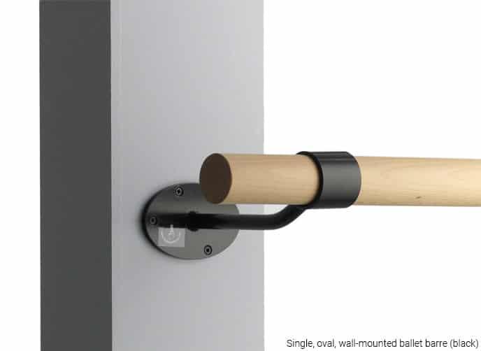 single oval bracket w