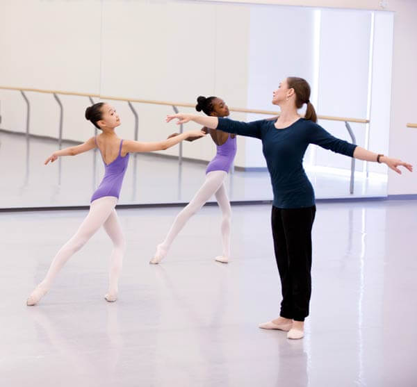 Dance class at the NBS in Canada.