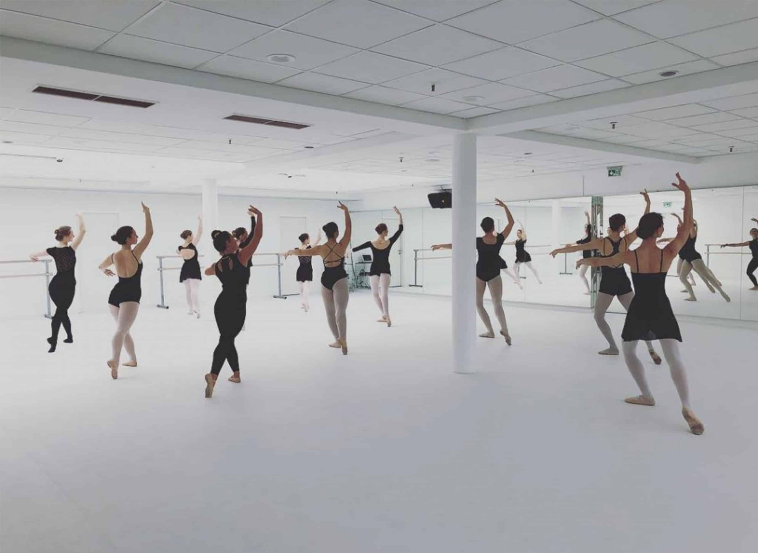 Ballett Tanzztentrum on Harlequin Reversible black/white