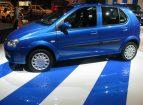 Blue Hi-Shine car