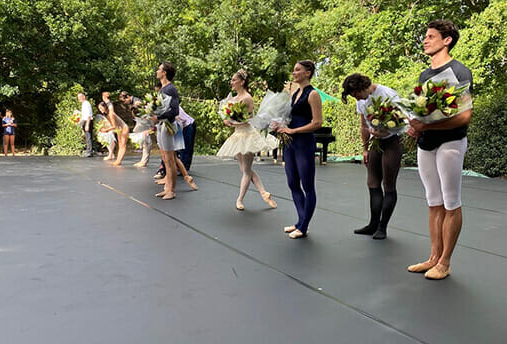 Royal Ballet at Athelhampton House