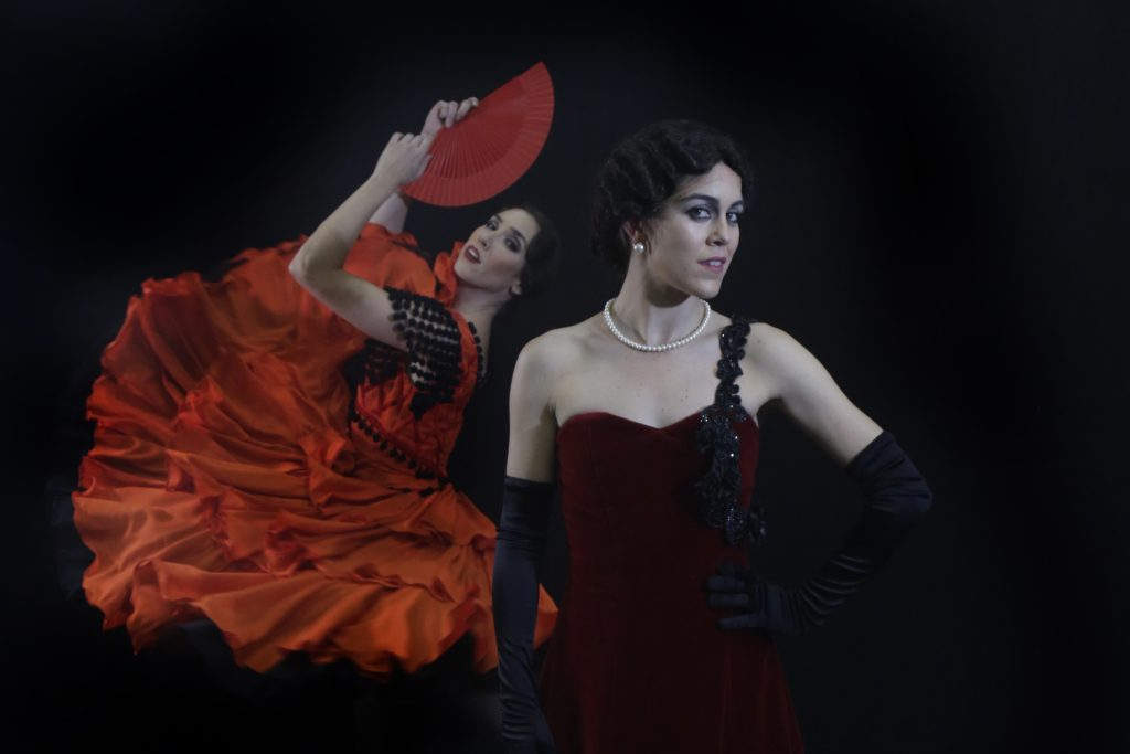 Stylised folk dances play a part in La Bella Otero