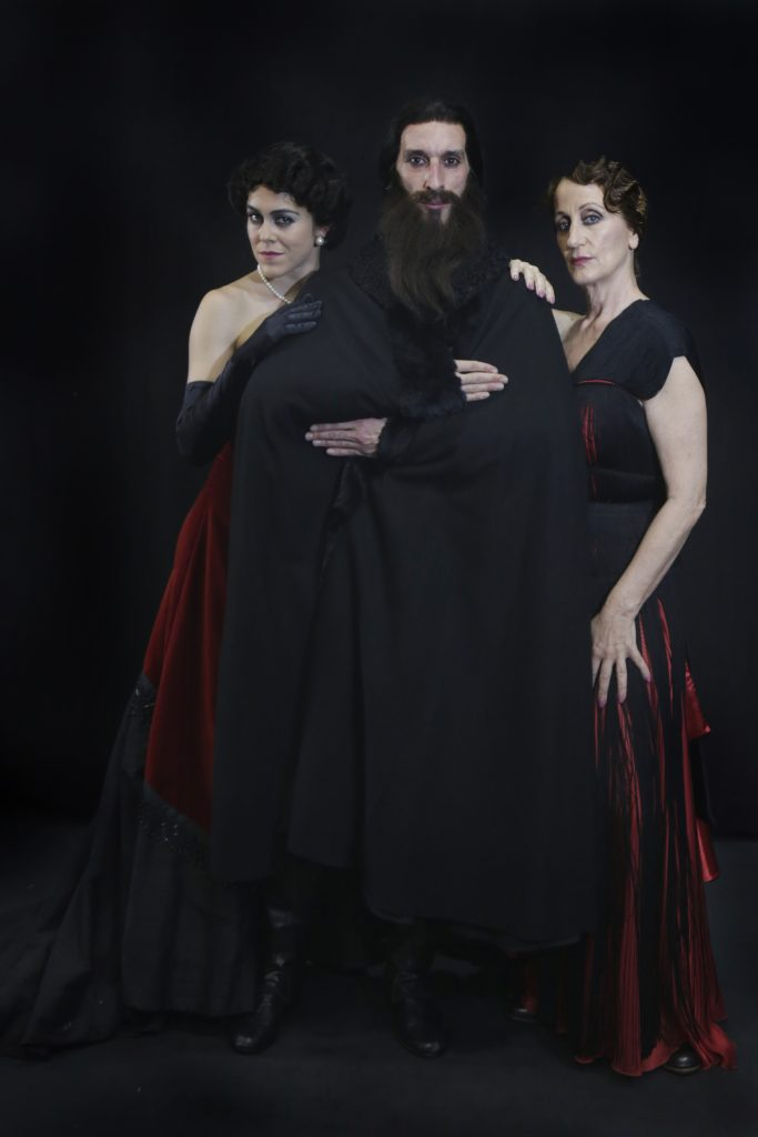 La Bella Otero - Three of the performers depicted together